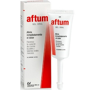 Aftum Oral Gel for Canker Sore Relief