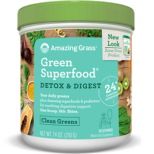 Amazing Grass Green Superfood Detox & Digest for Weight Loss