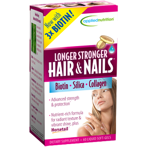 Applied Nutrition Longer Stronger Hair & Nails for Hair Growth