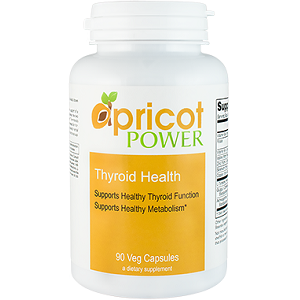 Apricot Power Thyroid Health for Thyroid Relief