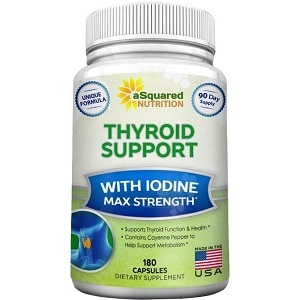 aSquared Nutrition Thyroid Support for Thyroid
