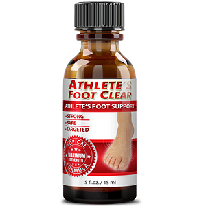 bottle of Athlete's Foot Clear