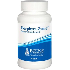 bottle of Biotics Research Porphyra-Zyme