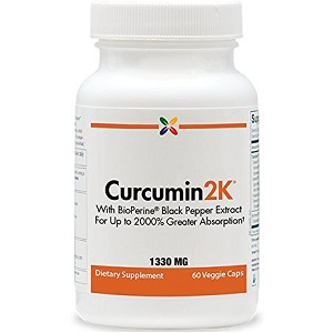 bottle of Curcumin2K