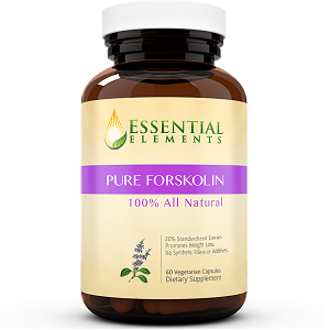 bottle of Essential Elements Forskolin