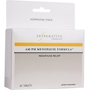 bottle of Integrative Therapeutics AM/PM Menopause Formula