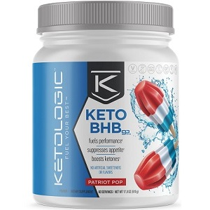bottle of KetoLogic Keto BHB Go