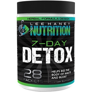 bottle of Lee Haney Nutrition Support Systemic Cleansing 7-Day Detox