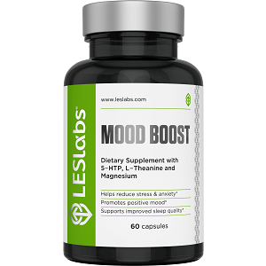 bottle of LES Labs Mood Boost