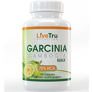 bottle of LiveTru Nutrition Garcinia Cambogia