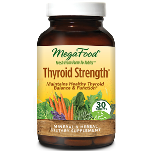 bottle of MegaFood Thyroid Strength