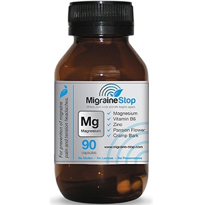 bottle of Migraine Stop