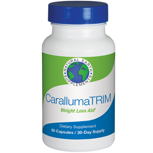 bottle of Natural Earth Supplements Caralluma Trim