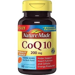 bottle of Nature Made CoQ10