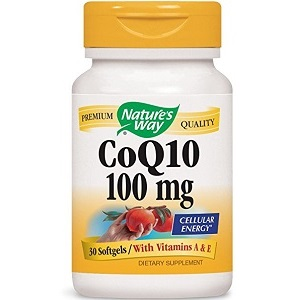 bottle of Nature's Way CoQ10