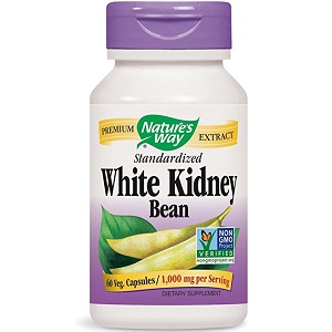 bottle of Nature's Way Premium Extract Standardized White Kidney Bean