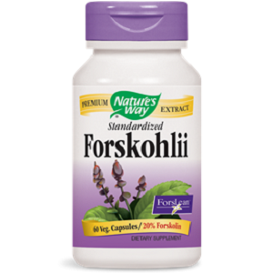 bottle of Nature's Way Standardized Forskohlii
