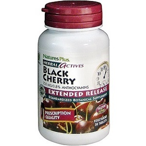 bottle of Natures Plus Herbal Actives Black Cherry
