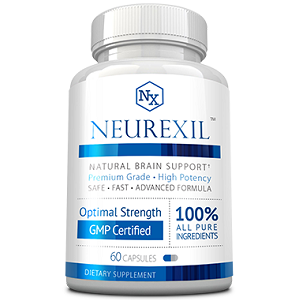 bottle of Neurexil Natural Brain Support