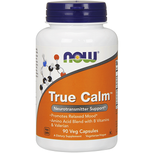 bottle of NOW True Calm