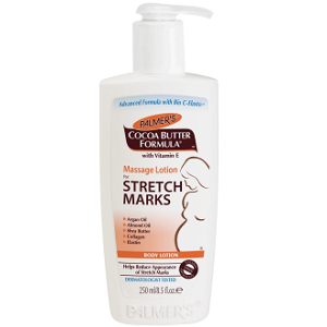 bottle of Palmer's Massage Lotion for Stretch Marks