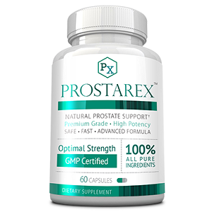 bottle of prostarex