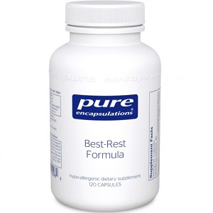 bottle of Pure Encapsulations Best-Rest Formula