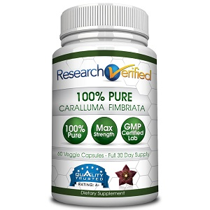 bottle of Reseach verified caralluma fimbriata
