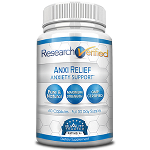 bottle of Research Verified AnxiRelief