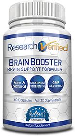 bottle of research verified brain booster