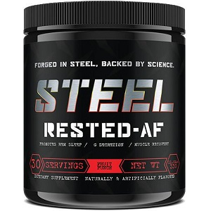 bottle of Steel Rested-AF