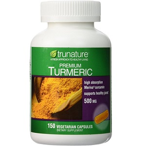 bottle of Trunature Premium Turmeric
