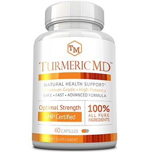 bottle of Turmeric MD