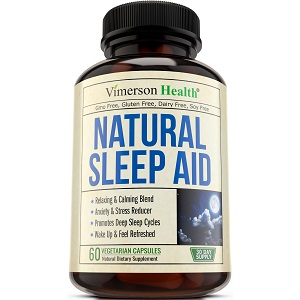 bottle of Vimerson Health Natural Sleep Aid