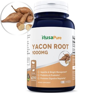 bottle of Weight Management Yacon Root 1000
