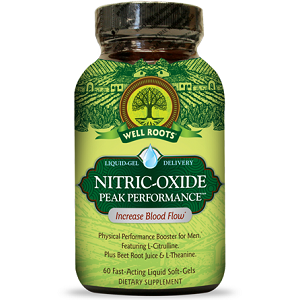bottle of Well Roots Nitric-Oxide Peak Performance