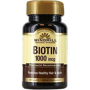 bottle of Windmill Biotin