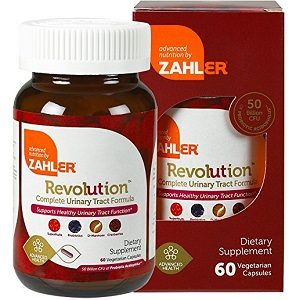 bottle of Zahler UTI Revolution