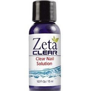 bottle of ZetaClear Nail Fungus Topical Treatment Solution