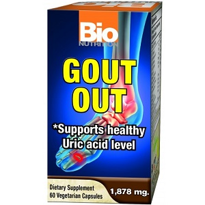 box of BioNutrition Gout Out