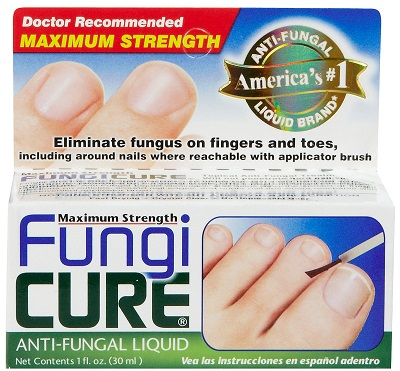 box of fungicure for nail fungus