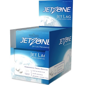 box of JetZone Jet Lag Prevention