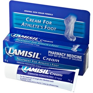 box of Lamisil Antifungal Cream