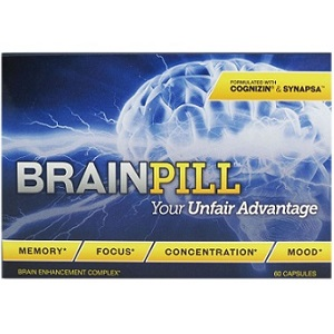 box of Leading Health Brain Pill