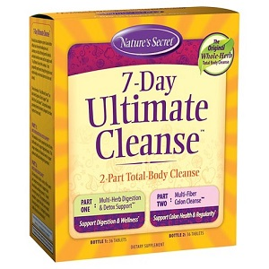box of Nature's Secret 7-Day Ultimate Cleanse
