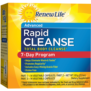 box of Renew Life Rapid Cleanse