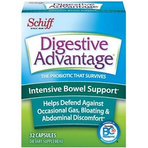 box of Schiff Vitamins Digestive Advantage