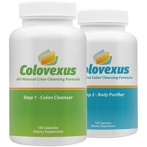 Colovexus 2 Stage Colon Cleanser for Colon Cleanse