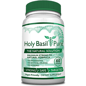 Consumer Health Holy Basil Pure for Health & Well-Being