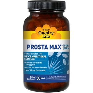 Country Life Prosta-Max For Men for Prostate